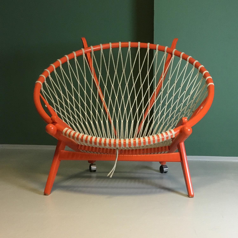 hans j wegner circle chair pp130 moderna möbelklassiker