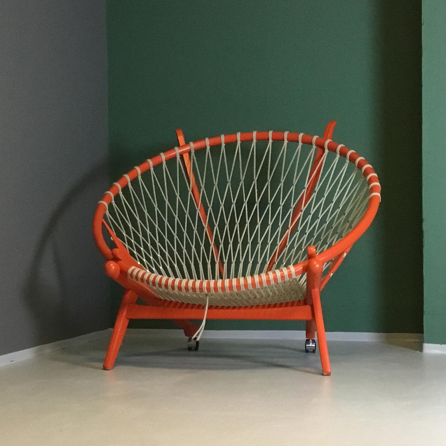 Hans J Wegner Circle Chair Pp130 Moderna Mobelklassiker
